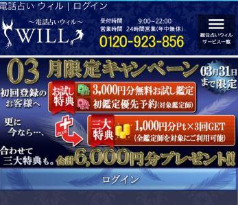 ウィル 公式サイト